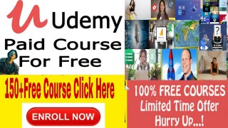 100% Off Udemy Coupon Code: 2020 With Daily Latest Updates