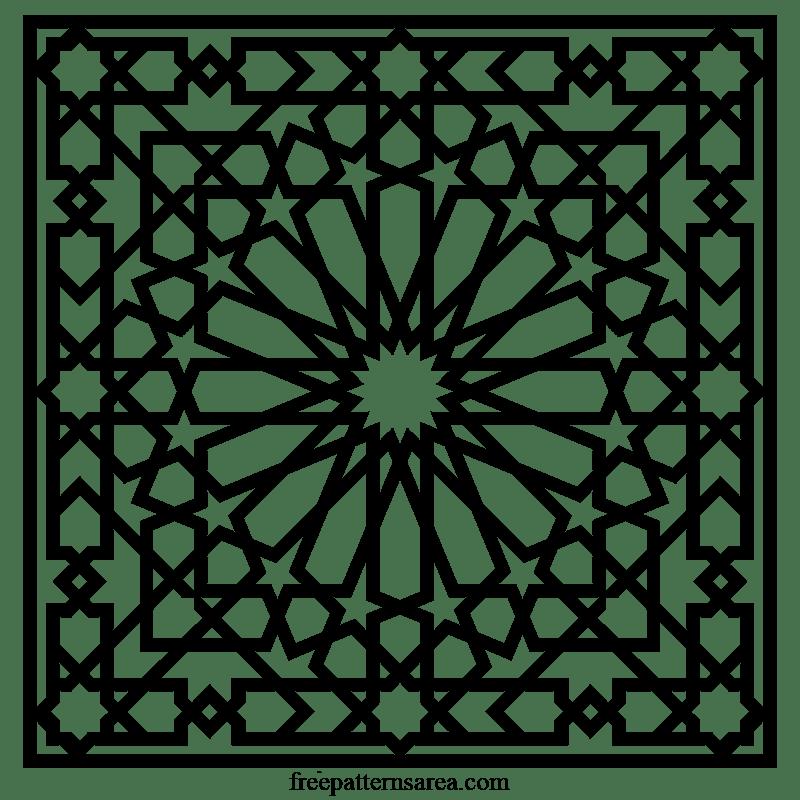 islamic arabesque geometric art