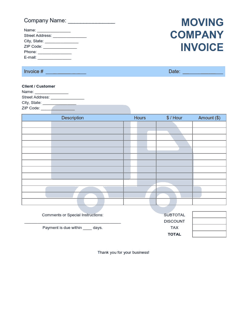 The second page of the invoice has the same header, footer and format as the first. Free Sample Invoice Templates 321 Free Templates In Word Excel And Pdf Free Download Free Pdf Books Page 22