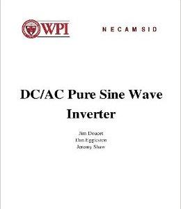 DC/AC Pure Sine Wave Inverter PDF