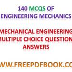 ENGINEERING MECHANICS – Mechanical Engineering Multiple choice Questions Answers