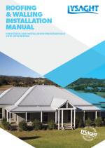steel roofing and walling installation manual,roofing walling installation manual,roofing and walling installation manual,lysaght roofing walling installation manual