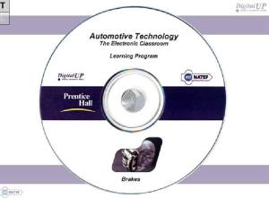 Automotive Technology Classroom Teaching CD