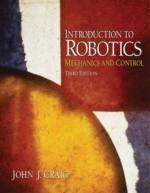 Introduction to Robotics Mechanics and Control
