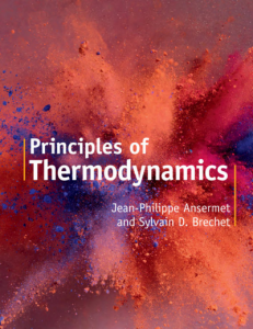Principles of Thermodynamics by Jean and Brechet