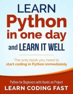 Learn Python in One Day and Learn It Well PDF by Jamie Chan