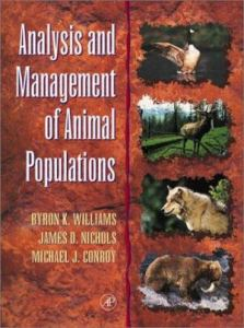 analysis and management of animal populations modeling estimation and decision making,analysis and management of animal populations pdf