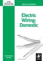 Electrical Wiring Domestic Book By Brian Scaddan