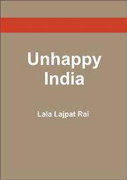 unhappy india by lala lajpat rai pdf