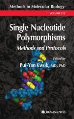Single Nucleotide Polymorphisms – Pui-Yan Kwok