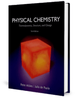 Physical Chemistry – Thermodynamics, Structure, and Change 10th Edition by Peter Atkins and de Paula