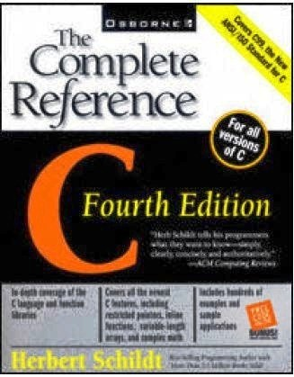 C Programming Helpful Book: C The Complete Reference By Herbert Schildt