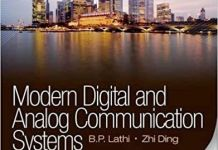 Mordern digital and analog communication systems (Third edition) by BP Lathi