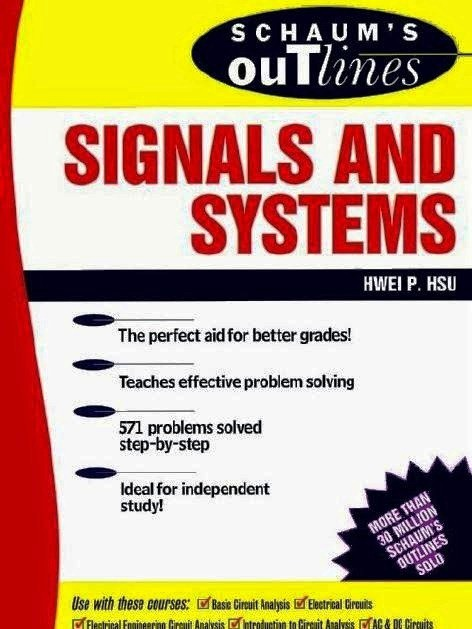 Theory and Problems of Signals and Systems by Hwei P. Hsu