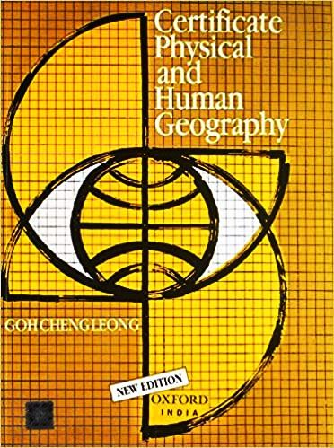 GC Leong Certificate Physical and Human Geography