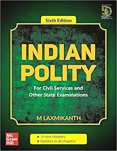 Indian Polity by M Laxmikanth 6th Edition PDF