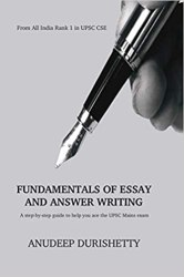 Fundamentals of Essay and Answer Writing Book Pdf Free Download