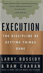Execution: The Discipline of Getting Things Done book pdf free download