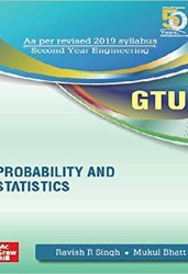 Probability and Statistics GTU Book (3130006) Book Pdf Free Download