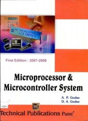 Microprocessor and Microcontroller System Book Pdf Free Download