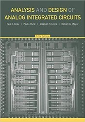 Analysis and Design of Analog Integrated Circuits book pdf free download