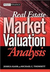 Real Estate Market Valuation and Analysis Book Pdf Free Download