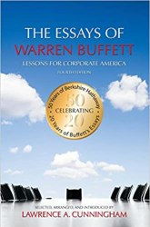 The Essays of Warren Buffett: Lessons for Corporate America Book pdf free download