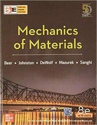Mechanics of Materials (McGraw Hill) Book Pdf Free Download