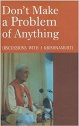 Don't Make a Problem of Anything book pdf free download