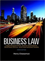 Business Law book pdf free download
