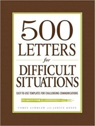 500 Letters for Difficult Situations book pdf free download