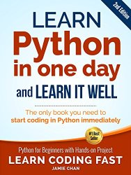 Learn Python in One Day and Learn it Well Book Pdf Free Download