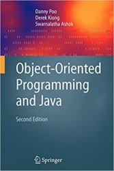 Object-Oriented Programming and Java Book Pdf Free Download