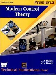 Modern Control Theory Book Pdf Free Download
