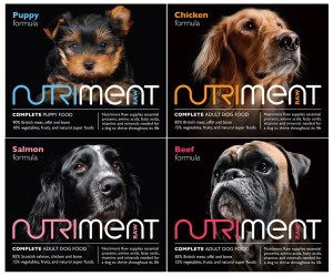 Nutriment raw dog food pack shots (giveaway)