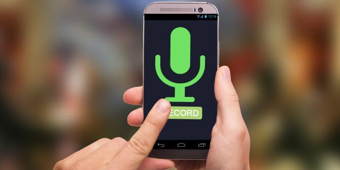 Ambient Voice Recording