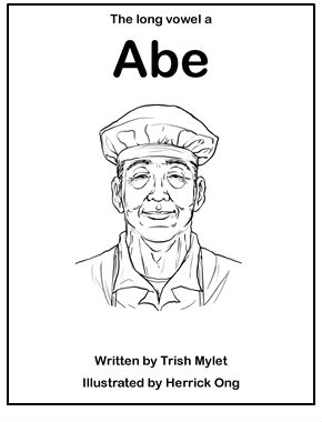 Free Phonetic Readers :: Long Vowel a with Abe