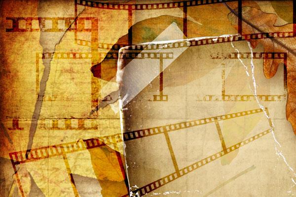 Film Strips Brushes & Psd Frame