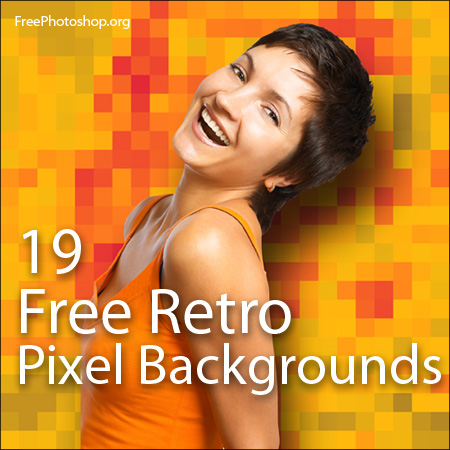 19 Free Pixel Backgrounds