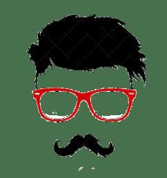 hairstyle vector bun graphics moustache beard clipart [ 1200 x 1161 Pixel ]