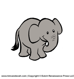 free baby elephant for kids printable animal clipart [ 1200 x 1200 Pixel ]