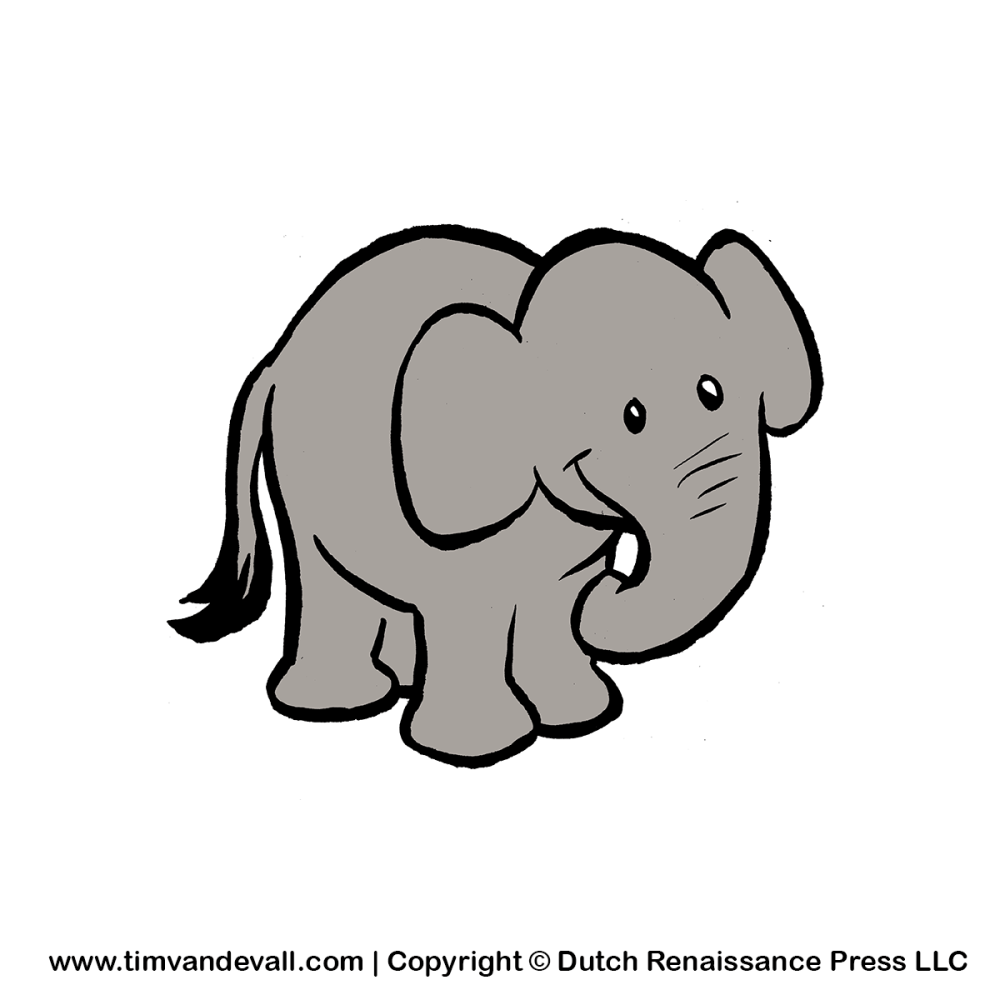medium resolution of free baby elephant for kids printable animal clipart
