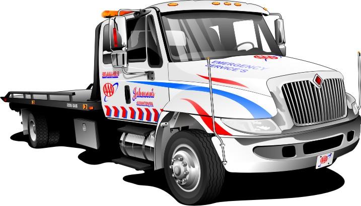 download cartoon tow truck