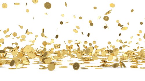 small resolution of download png image falling coins hd free clipart hq 321