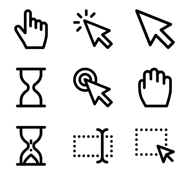 Cursor Free Png Mouse Pointer Icon Free Download Images