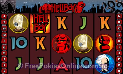 hellboy pokies game