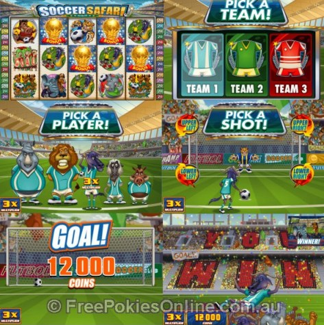 Soccer Safari Bonus Feature
