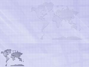 World Map 07 PowerPoint Templates