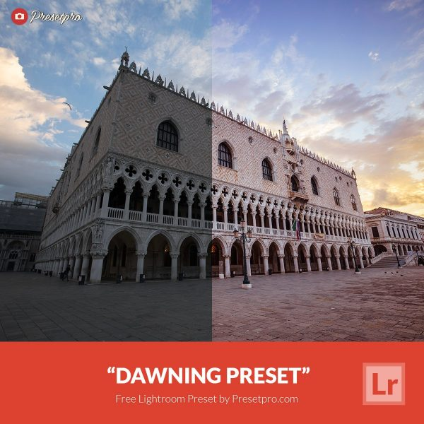 Preset Lightroom Dawning