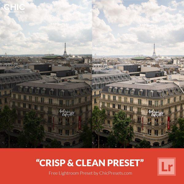 Preset Lightroom Crisp & Clean
